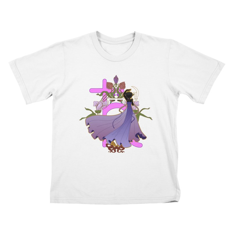 Princess Saturn Kids T-Shirt by MaruDashi's Artist Shop