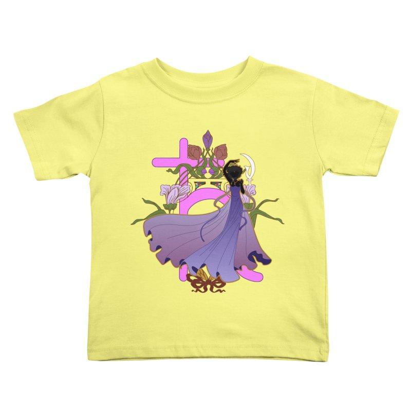 Princess Saturn Kids Toddler T-Shirt by MaruDashi's Artist Shop