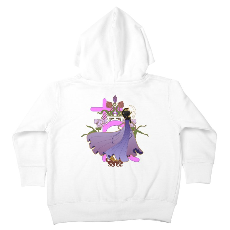 Princess Saturn Kids Toddler Zip-Up Hoody by MaruDashi's Artist Shop