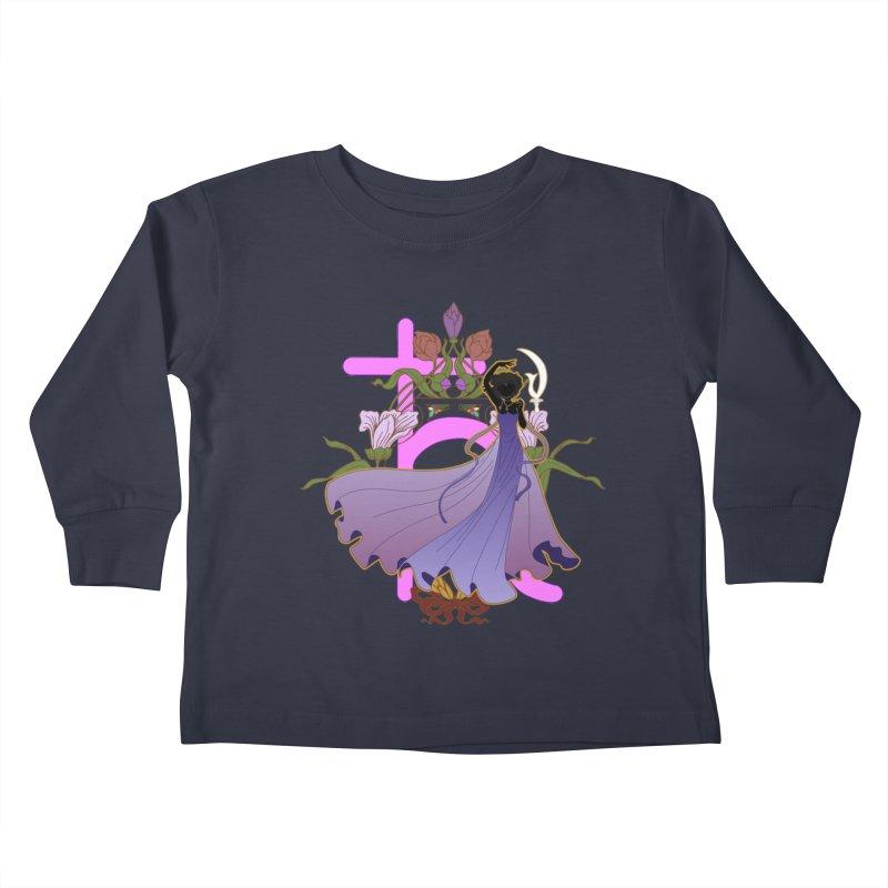 Princess Saturn Kids Toddler Longsleeve T-Shirt by MaruDashi's Artist Shop