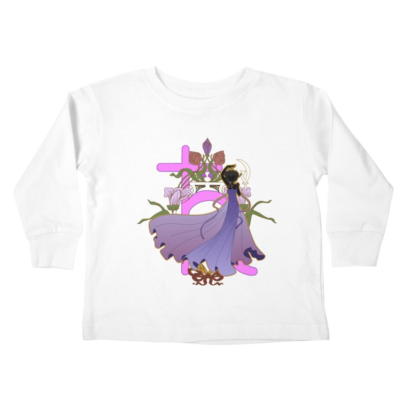 Princess Saturn Kids Toddler Longsleeve T-Shirt by MaruDashi's Artist Shop