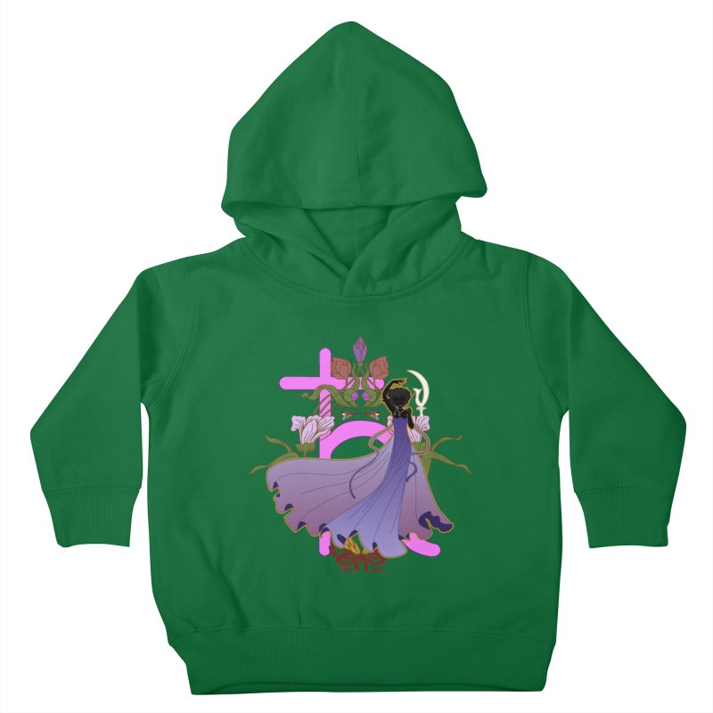 Princess Saturn Kids Toddler Pullover Hoody by MaruDashi's Artist Shop
