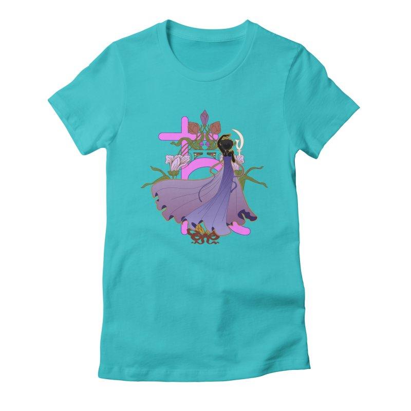 Princess Saturn Women's T-Shirt by MaruDashi's Artist Shop