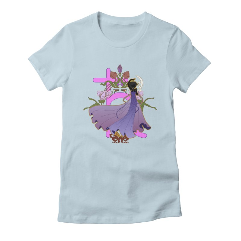 Princess Saturn Women's T-Shirt by MaruDashi's Artist Shop