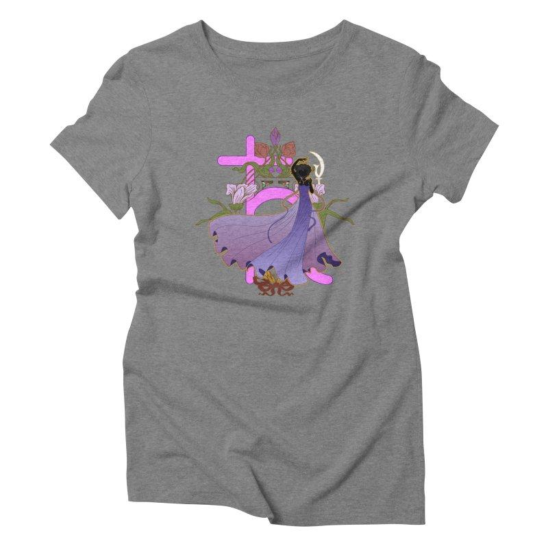 Princess Saturn Women's Triblend T-Shirt by MaruDashi's Artist Shop