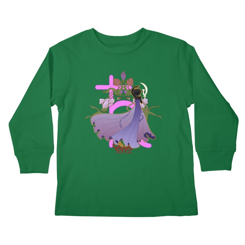 Princess Saturn Kids Longsleeve T-Shirt by MaruDashi's Artist Shop
