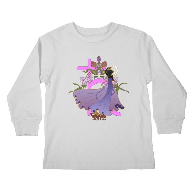 Princess Saturn Kids Longsleeve T-Shirt by MaruDashi's Artist Shop
