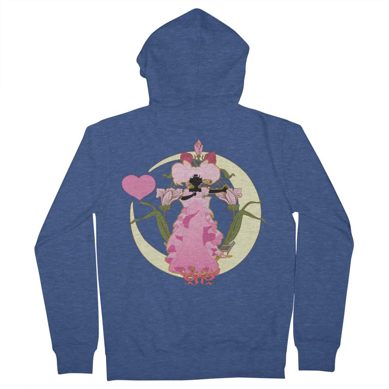 Small Lady Men's Zip-Up Hoody by MaruDashi's Artist Shop