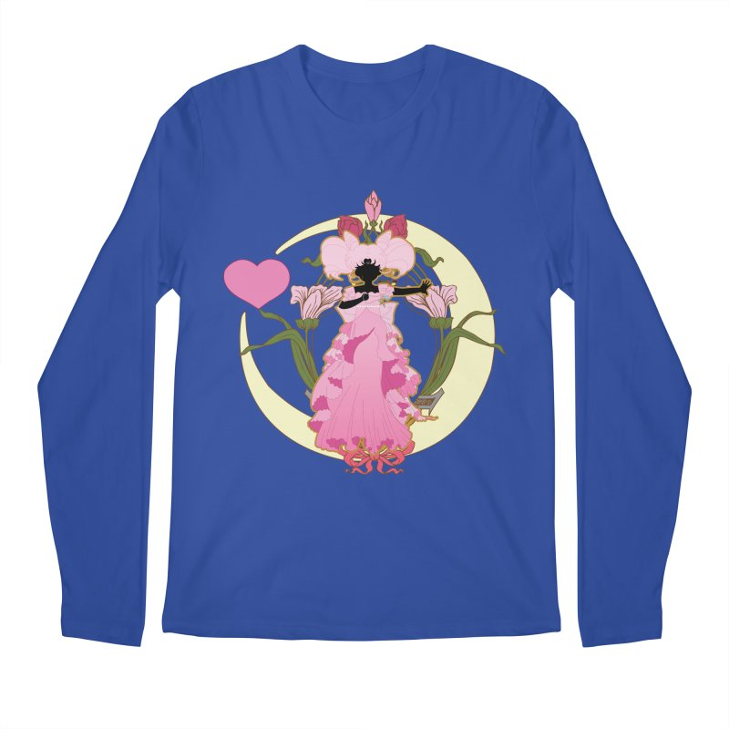 Small Lady Men's Longsleeve T-Shirt by MaruDashi's Artist Shop