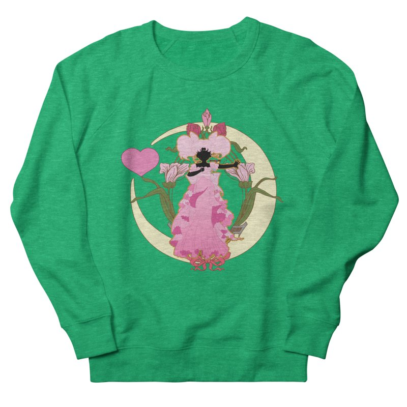 Small Lady Women's French Terry Sweatshirt by MaruDashi's Artist Shop