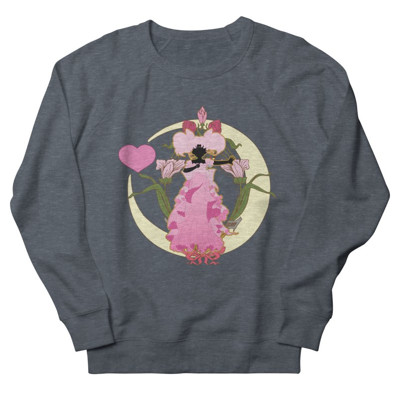 Small Lady Men's French Terry Sweatshirt by MaruDashi's Artist Shop