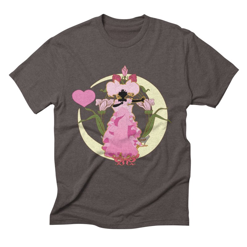 Small Lady Men's Triblend T-Shirt by MaruDashi's Artist Shop