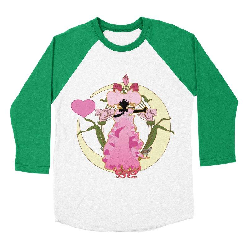 Small Lady Women's Baseball Triblend T-Shirt by MaruDashi's Artist Shop