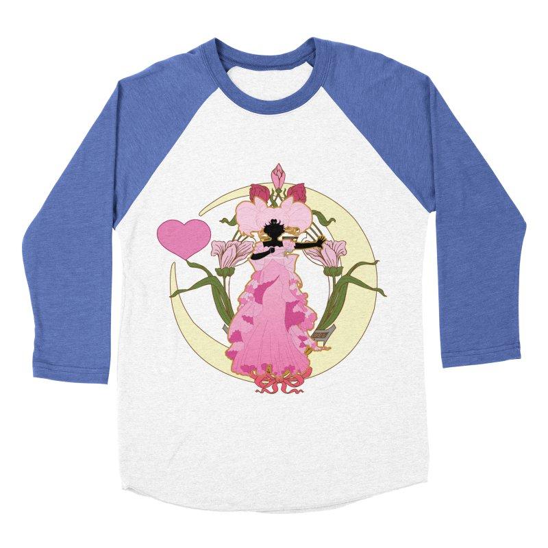 Small Lady Men's Baseball Triblend Longsleeve T-Shirt by MaruDashi's Artist Shop