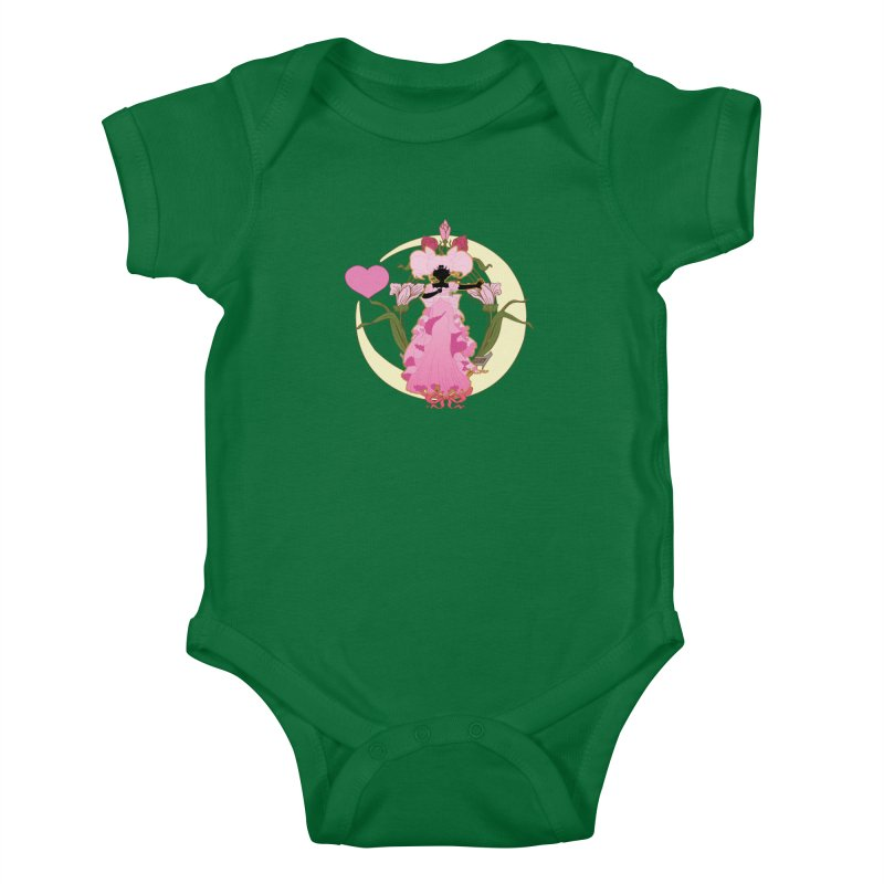 Small Lady Kids Baby Bodysuit by MaruDashi's Artist Shop