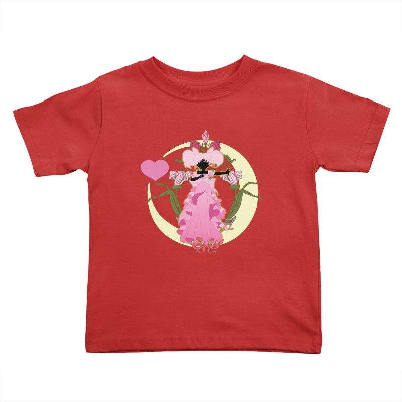 Small Lady Kids Toddler T-Shirt by MaruDashi's Artist Shop
