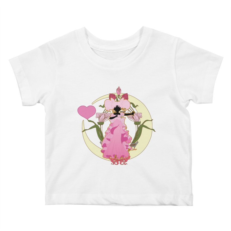 Small Lady Kids Baby T-Shirt by MaruDashi's Artist Shop