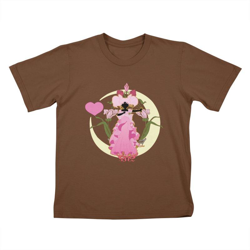 Small Lady Kids T-Shirt by MaruDashi's Artist Shop