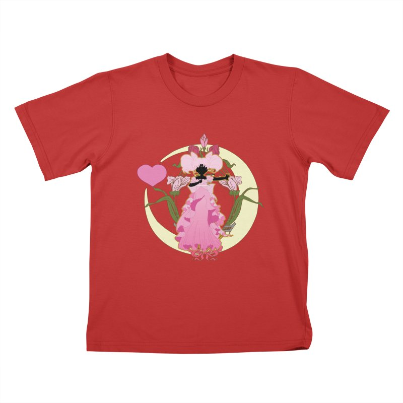 Small Lady Kids T-Shirt by MaruDashi's Artist Shop