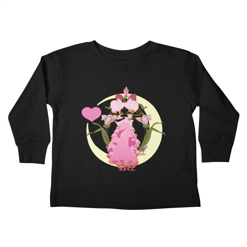 Small Lady Kids Toddler Longsleeve T-Shirt by MaruDashi's Artist Shop