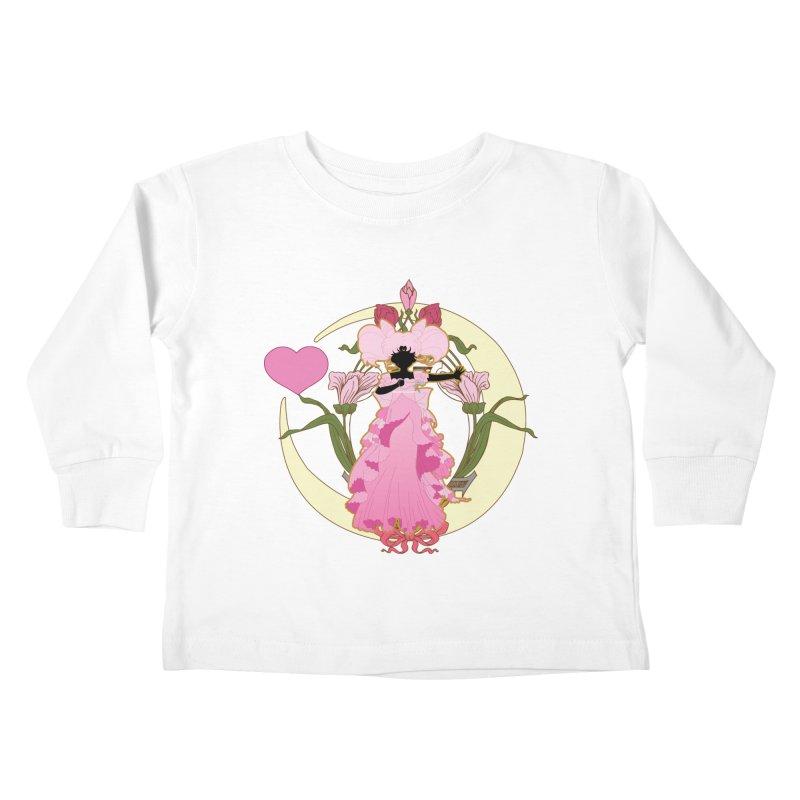 Small Lady Kids Toddler Longsleeve T-Shirt by MaruDashi's Artist Shop