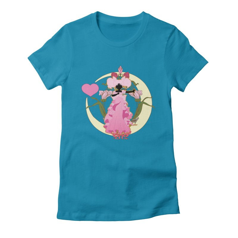 Small Lady Women's T-Shirt by MaruDashi's Artist Shop
