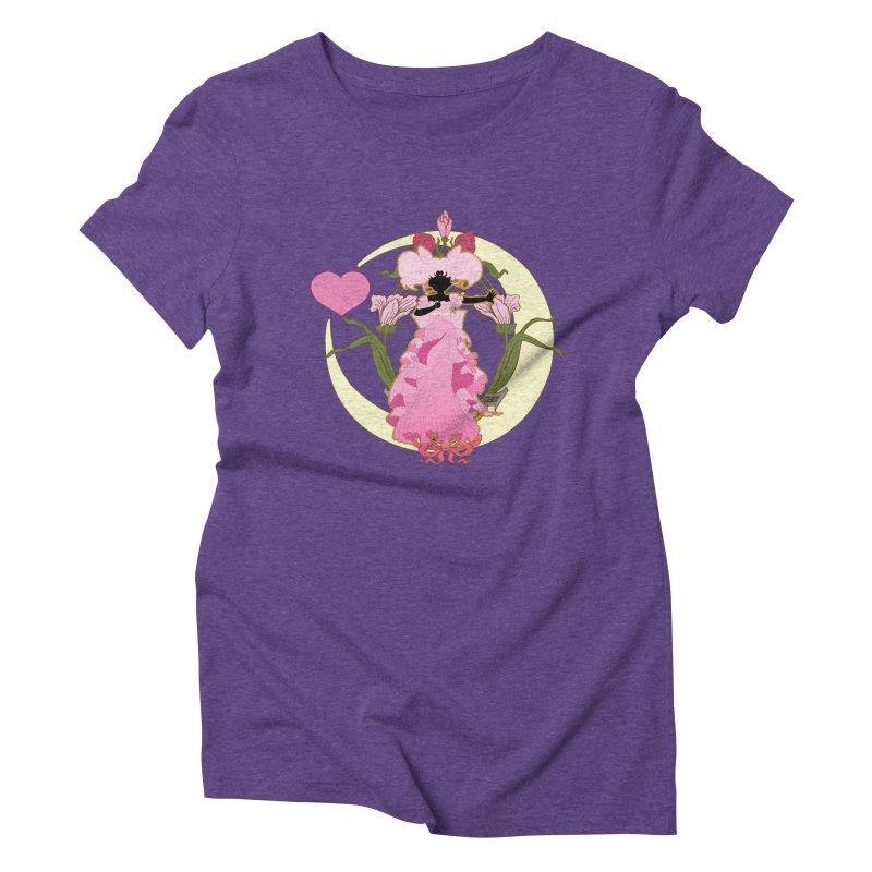 Small Lady Women's Triblend T-Shirt by MaruDashi's Artist Shop
