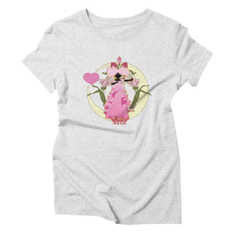 Small Lady Women's Triblend T-Shirt by MaruDashi's Artist Shop
