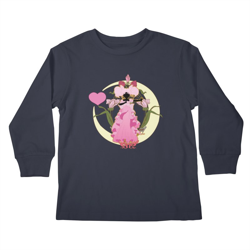 Small Lady Kids Longsleeve T-Shirt by MaruDashi's Artist Shop