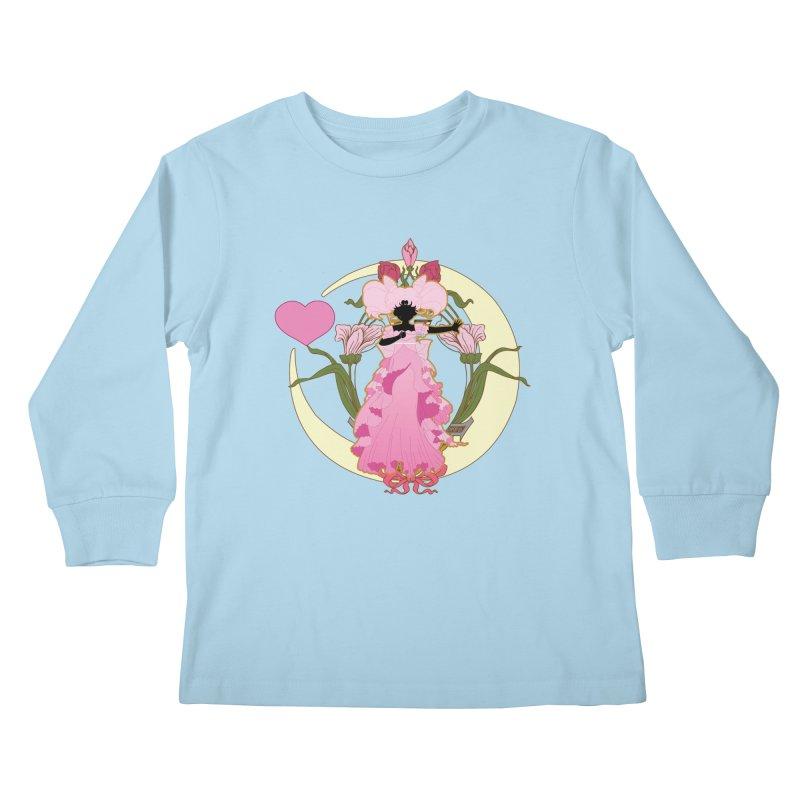 Small Lady Kids Longsleeve T-Shirt by MaruDashi's Artist Shop