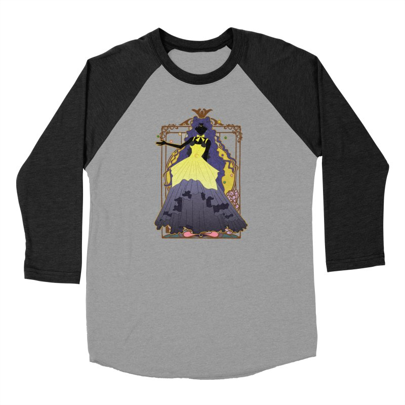 Luna Women's Baseball Triblend Longsleeve T-Shirt by MaruDashi's Artist Shop