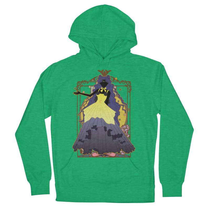 Luna Men's French Terry Pullover Hoody by MaruDashi's Artist Shop