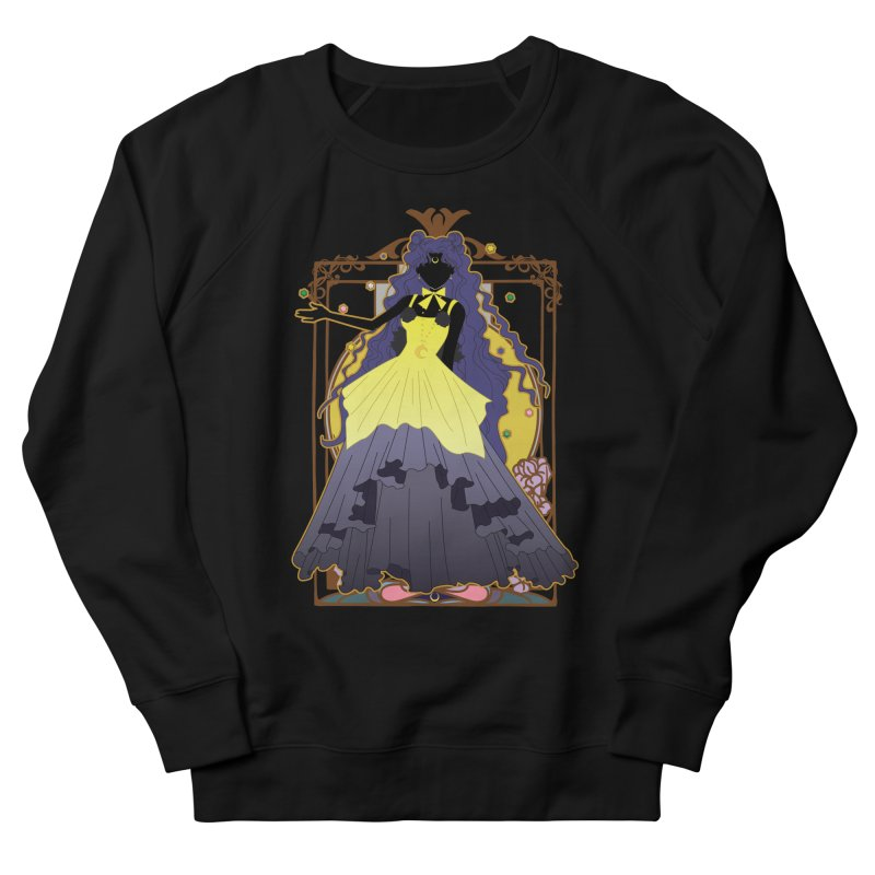 Luna Men's French Terry Sweatshirt by MaruDashi's Artist Shop