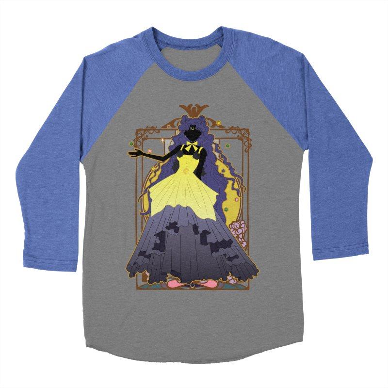 Luna Women's Baseball Triblend T-Shirt by MaruDashi's Artist Shop