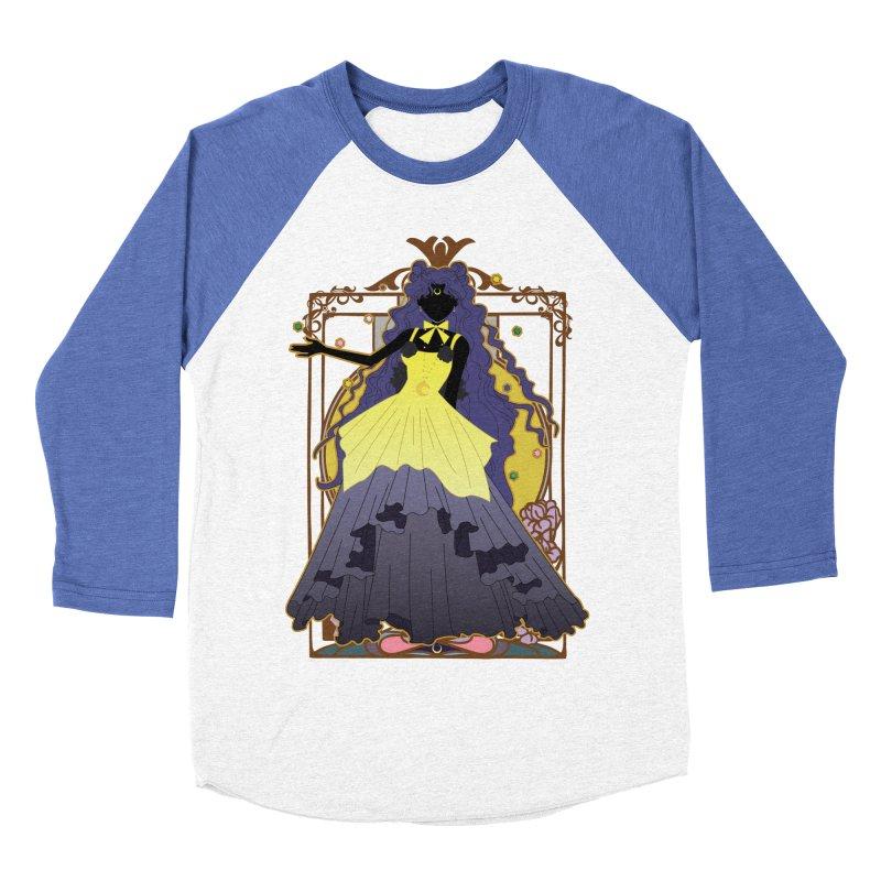 Luna Men's Baseball Triblend Longsleeve T-Shirt by MaruDashi's Artist Shop