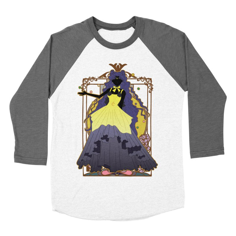 Luna Men's Baseball Triblend T-Shirt by MaruDashi's Artist Shop