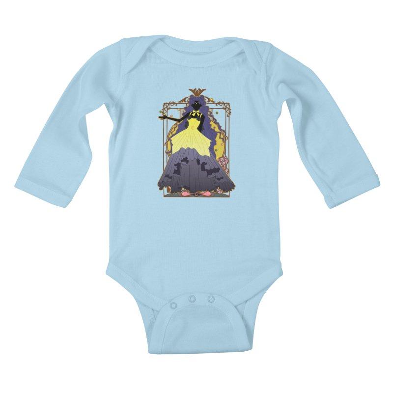 Luna Kids Baby Longsleeve Bodysuit by MaruDashi's Artist Shop