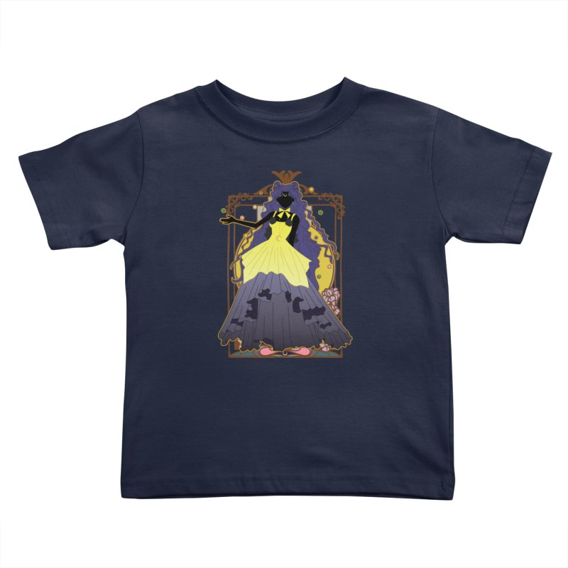 Luna Kids Toddler T-Shirt by MaruDashi's Artist Shop