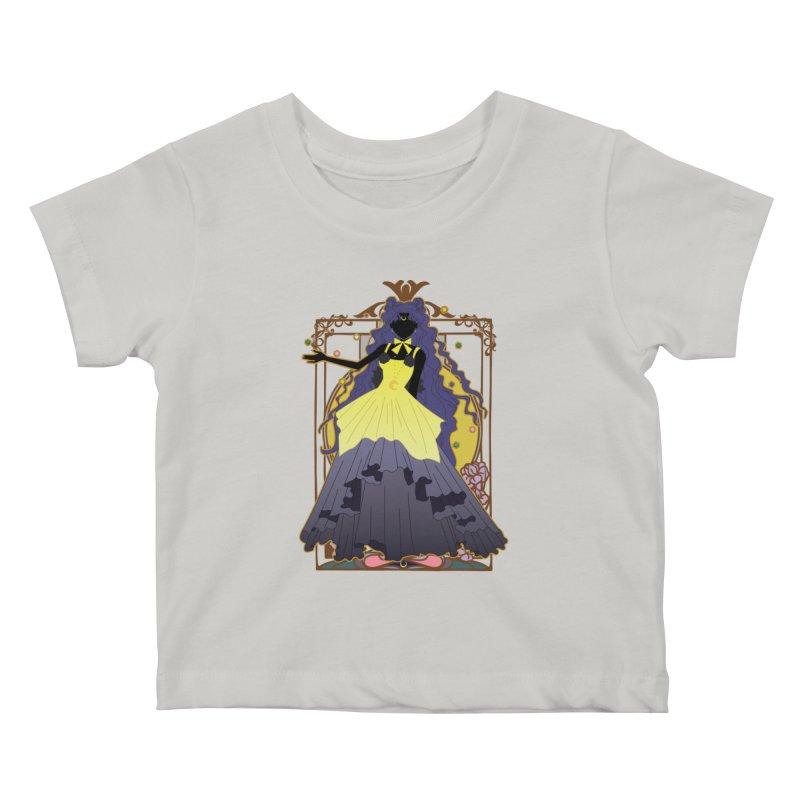 Luna Kids Baby T-Shirt by MaruDashi's Artist Shop