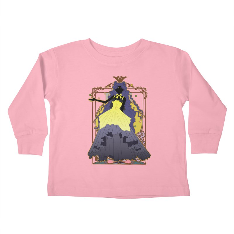 Luna Kids Toddler Longsleeve T-Shirt by MaruDashi's Artist Shop