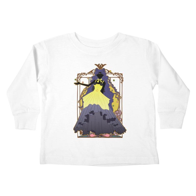 Luna Kids Toddler Longsleeve T-Shirt by MaruDashi's Artist Shop