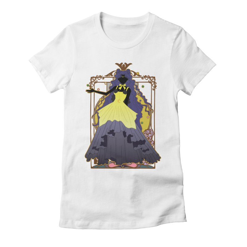 Luna Women's Fitted T-Shirt by MaruDashi's Artist Shop