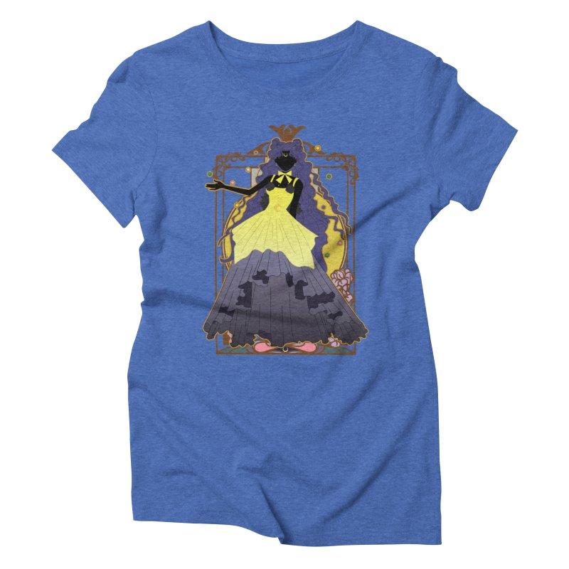 Luna Women's Triblend T-Shirt by MaruDashi's Artist Shop