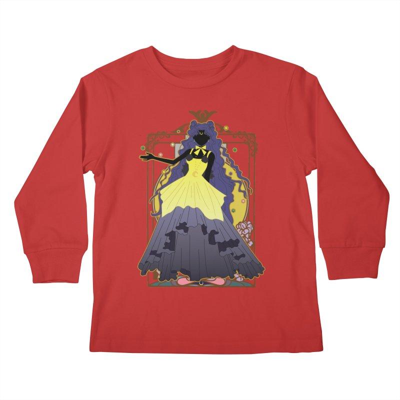 Luna Kids Longsleeve T-Shirt by MaruDashi's Artist Shop