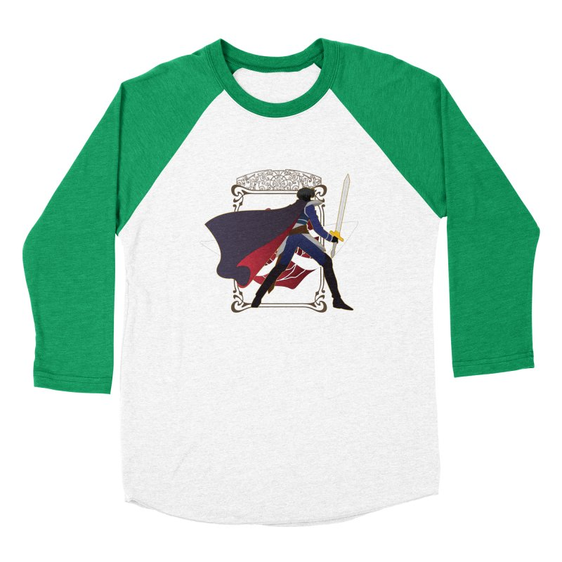 Endymion Women's Baseball Triblend Longsleeve T-Shirt by MaruDashi's Artist Shop