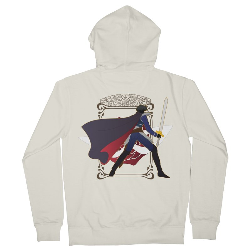 Endymion Men's French Terry Zip-Up Hoody by MaruDashi's Artist Shop