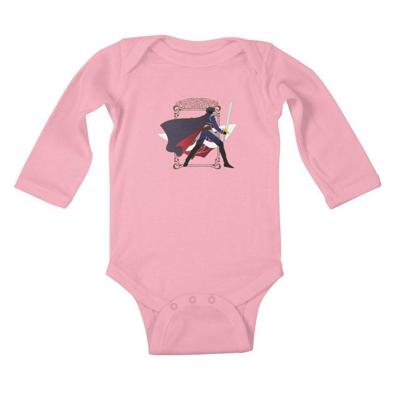 Endymion Kids Baby Longsleeve Bodysuit by MaruDashi's Artist Shop