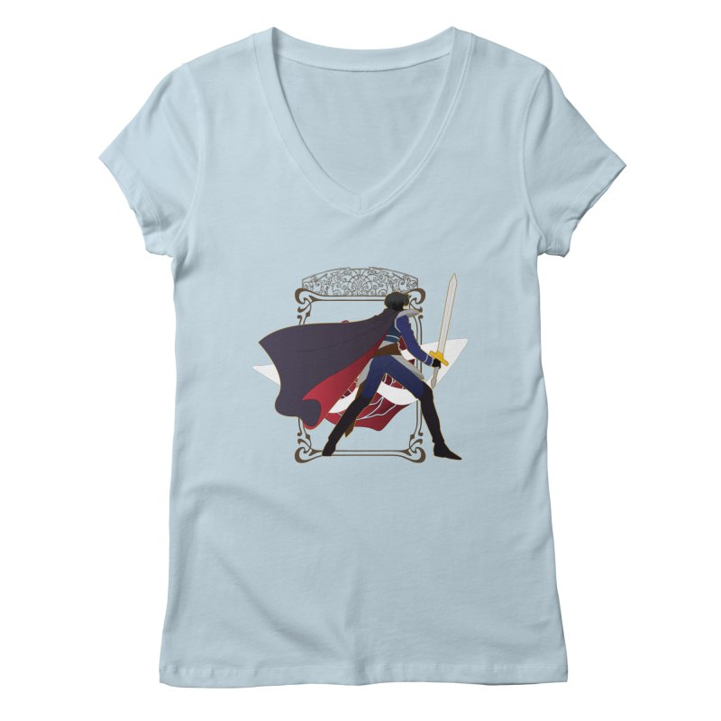 Endymion Women's V-Neck by MaruDashi's Artist Shop
