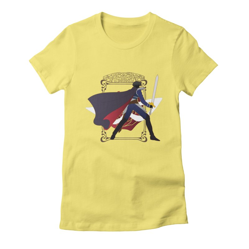 Endymion Women's Fitted T-Shirt by MaruDashi's Artist Shop