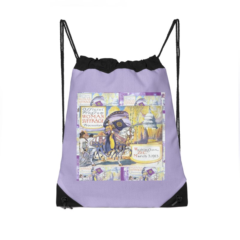 1913 Women's March On Washington - Votes For Women Accessories Bag by Maryheartworks's Artist Shop